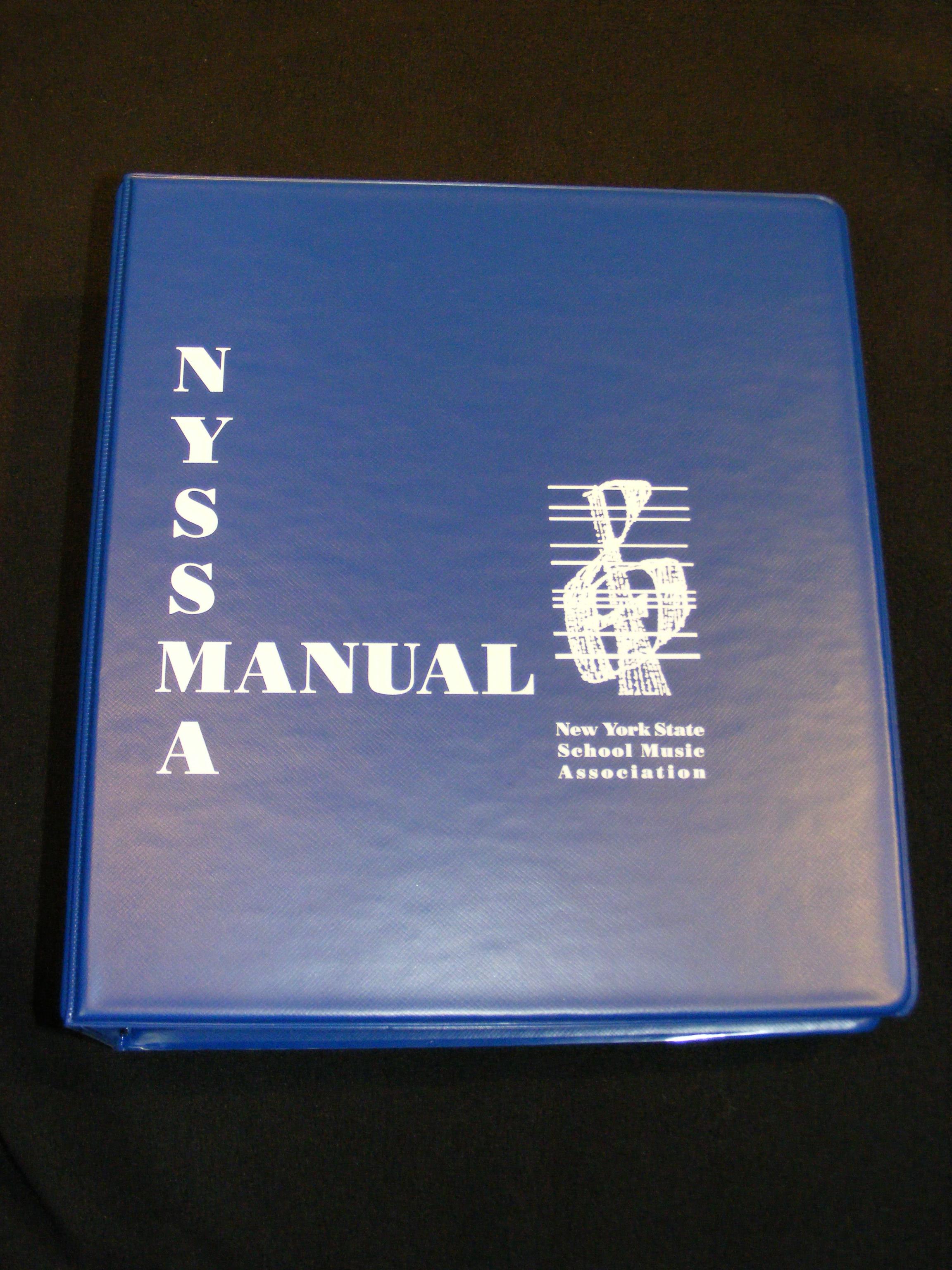 NYSSMA Manual – New York State School Music Association