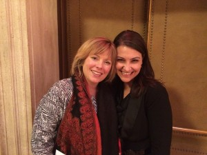 All-State Mixed Chorus Conductor Dr. Sandra Snow and Composer-in-Residence Abbie Betinis
